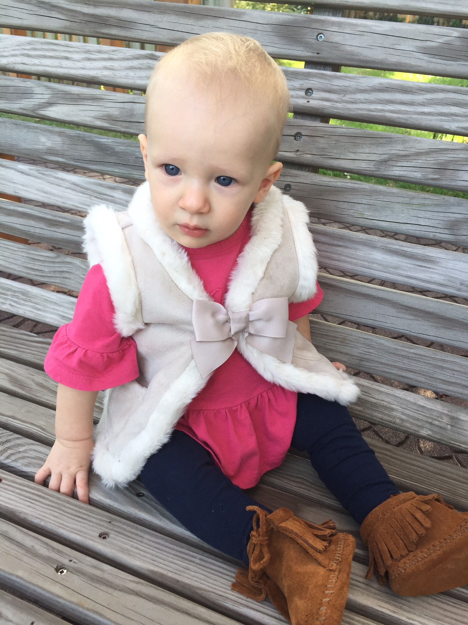 Nora fall pink outfit