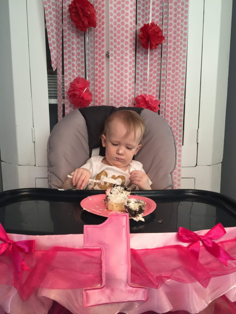 First birthday for the princess