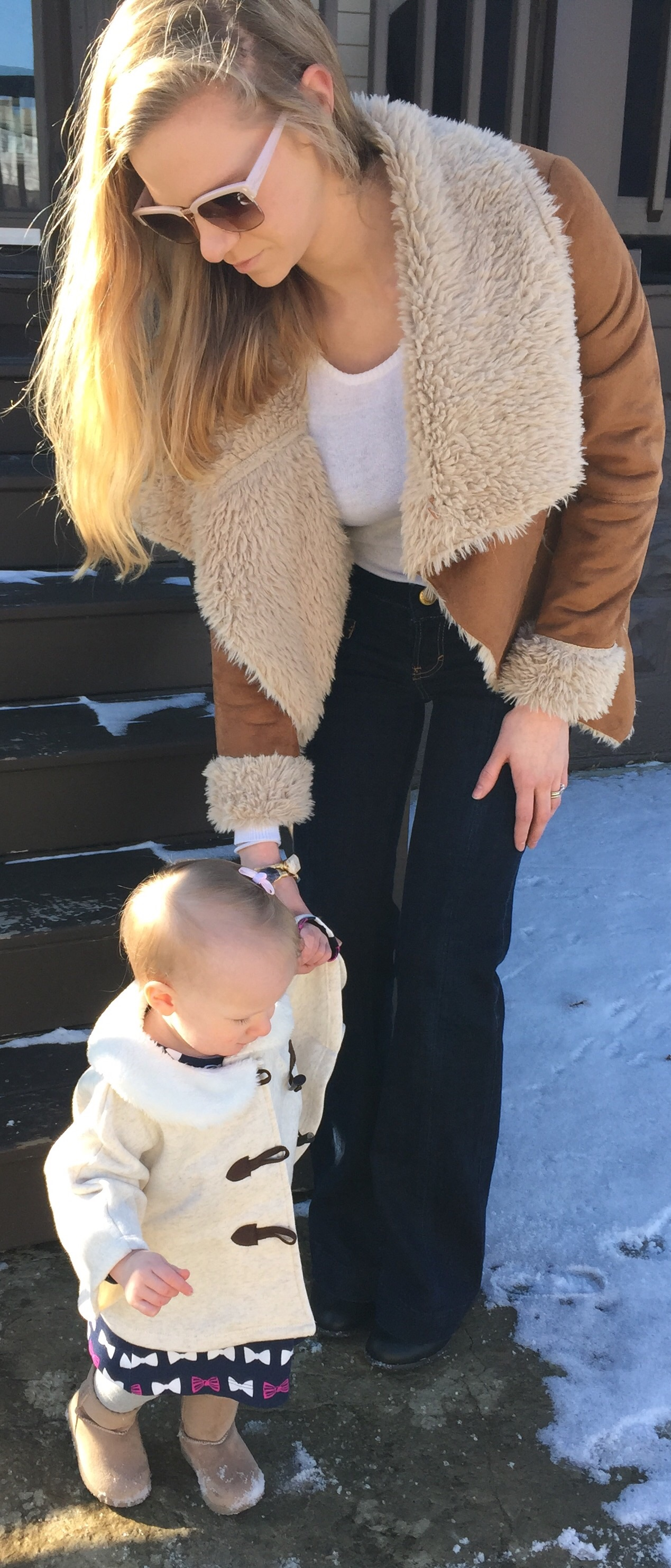 jeans, ponchos, dresses, jackets, baby and mommy fashion