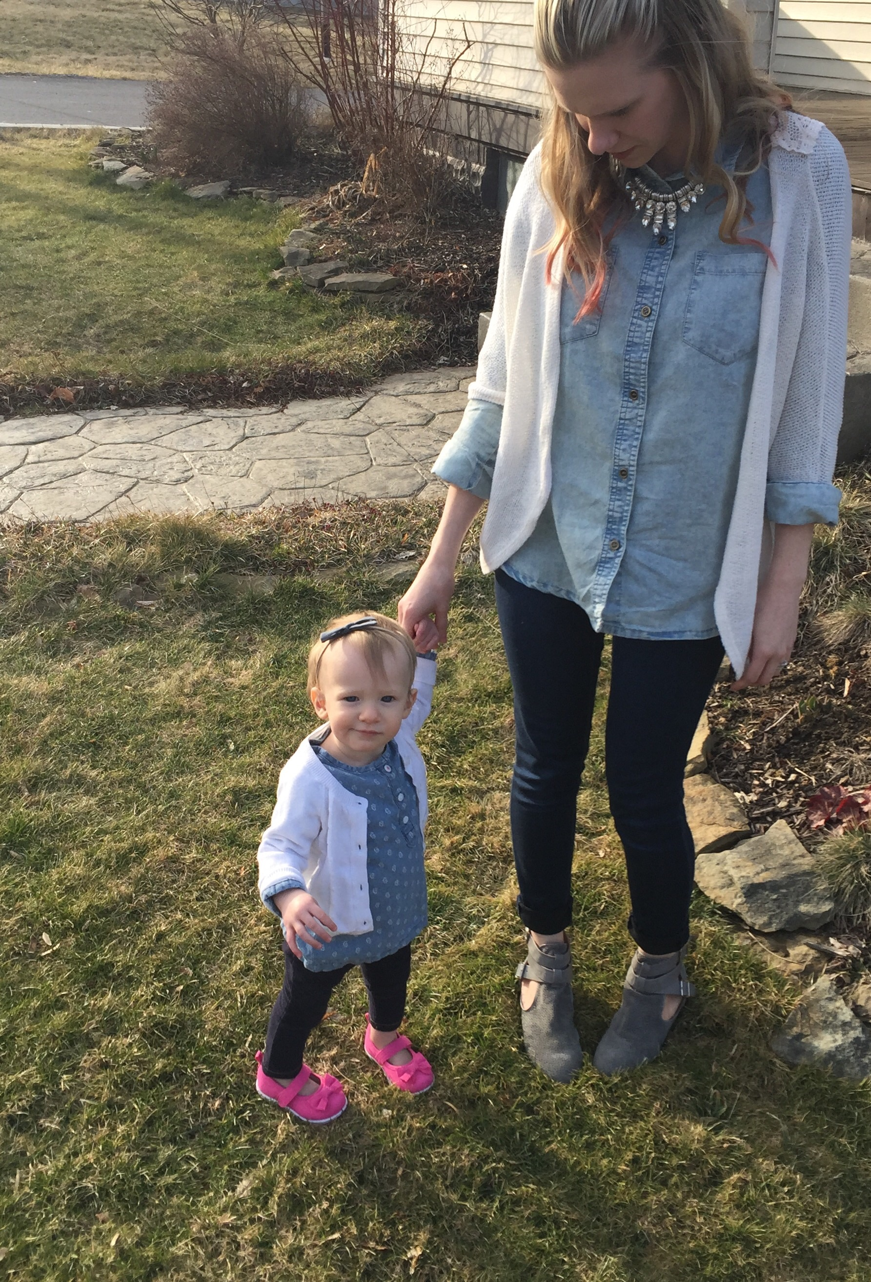 Matching mommy and me fashion