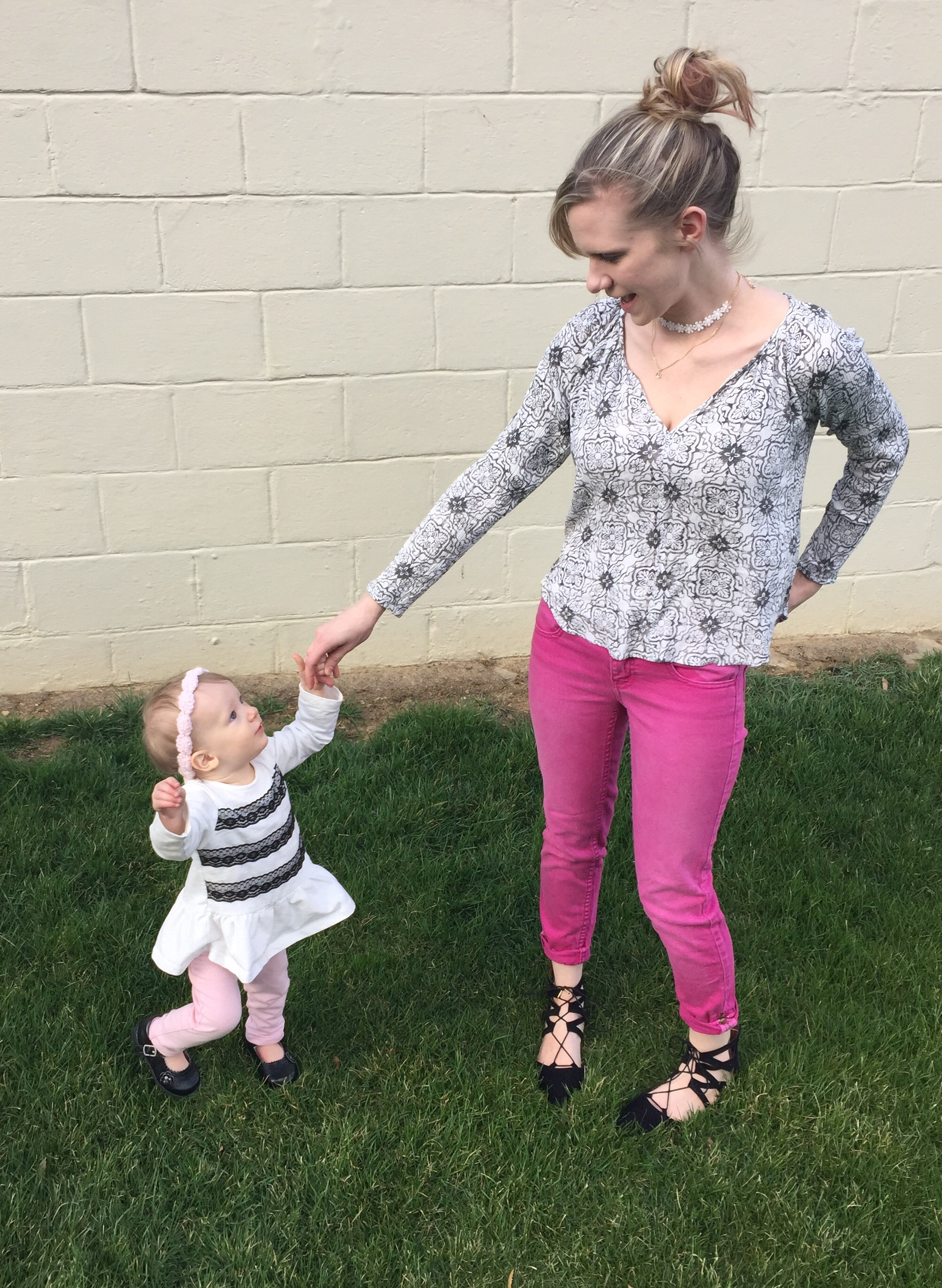 spring style for mommy and me
