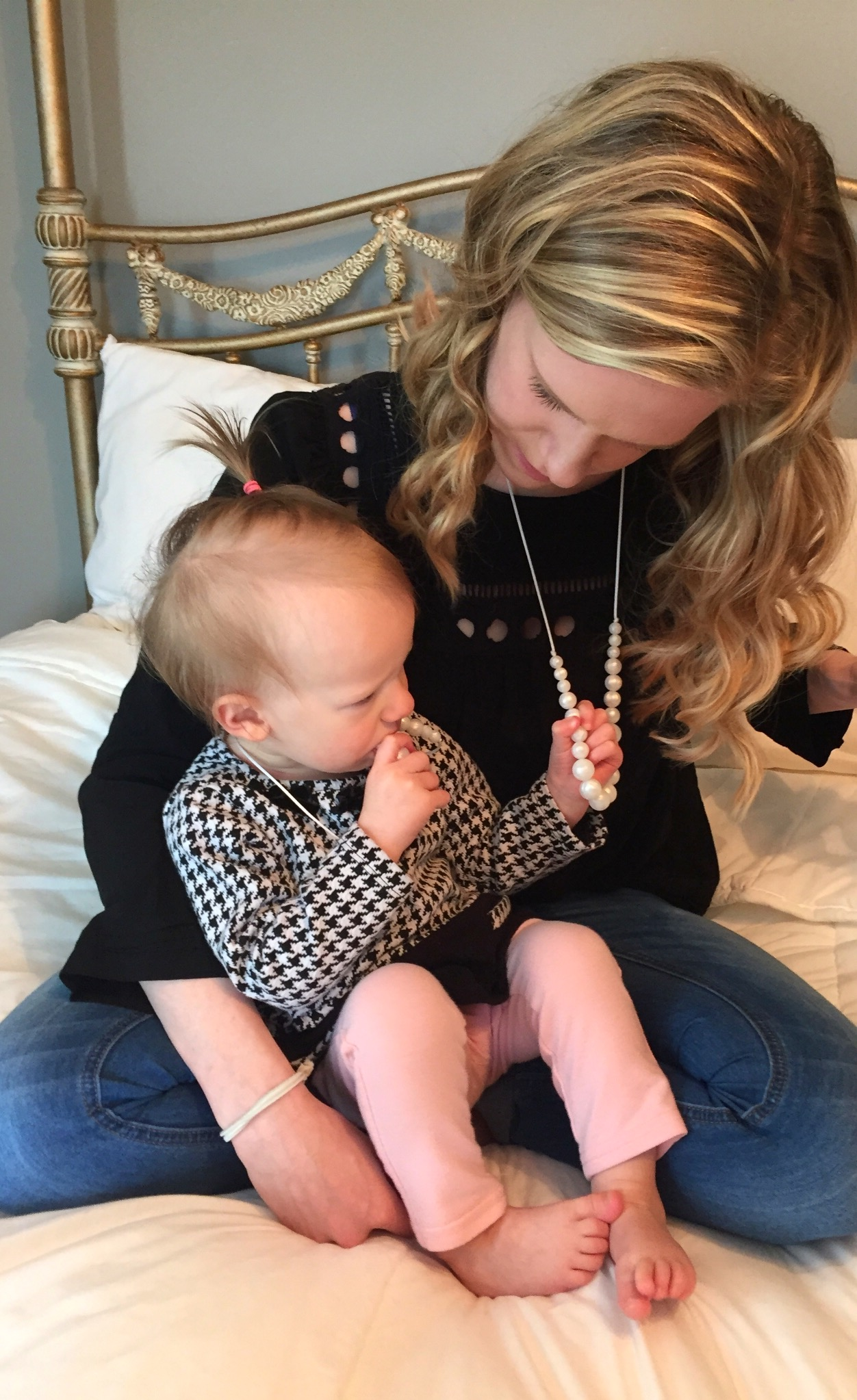 Haddie Rain Teething Necklace Set
