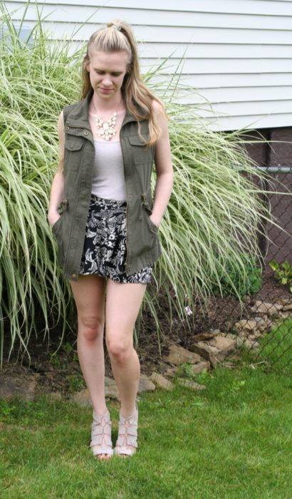 Military Vest, The Summer Way!