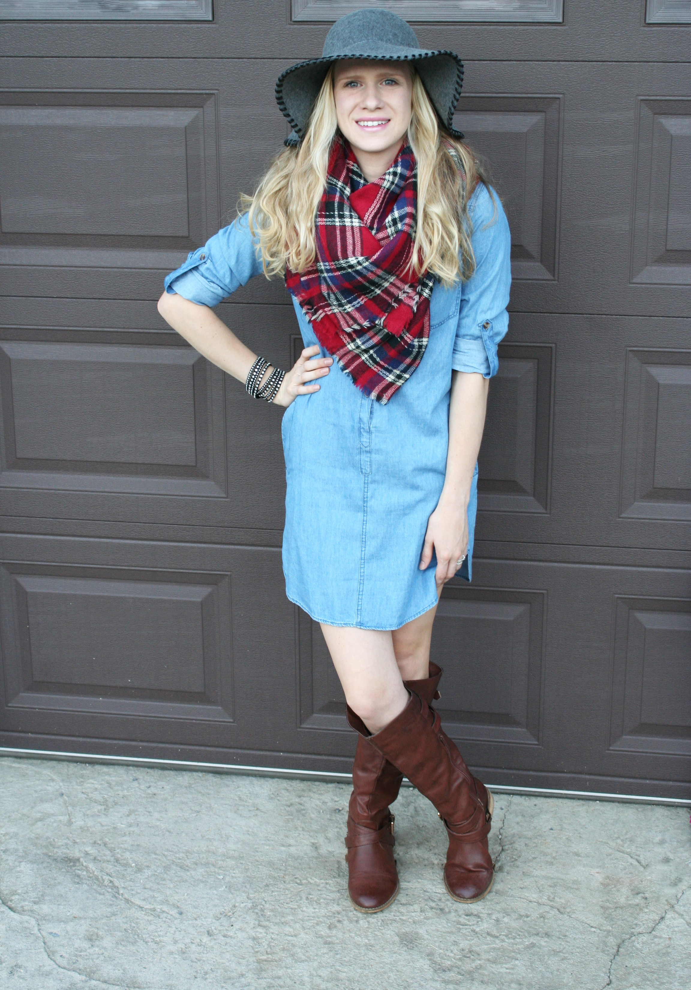 plaid-and-chambray-dress-3