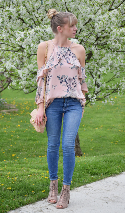 Filly Flair Floral Top
