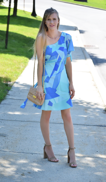 Cuddy Studios Tossed Print Dress & Popular Colors for the Summer!