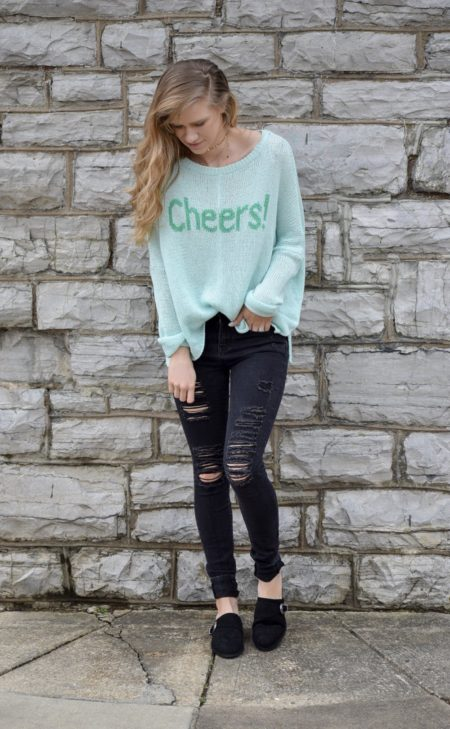 Woodenships knits cheers sweater